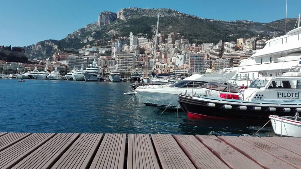 il porto di Montecarlo
