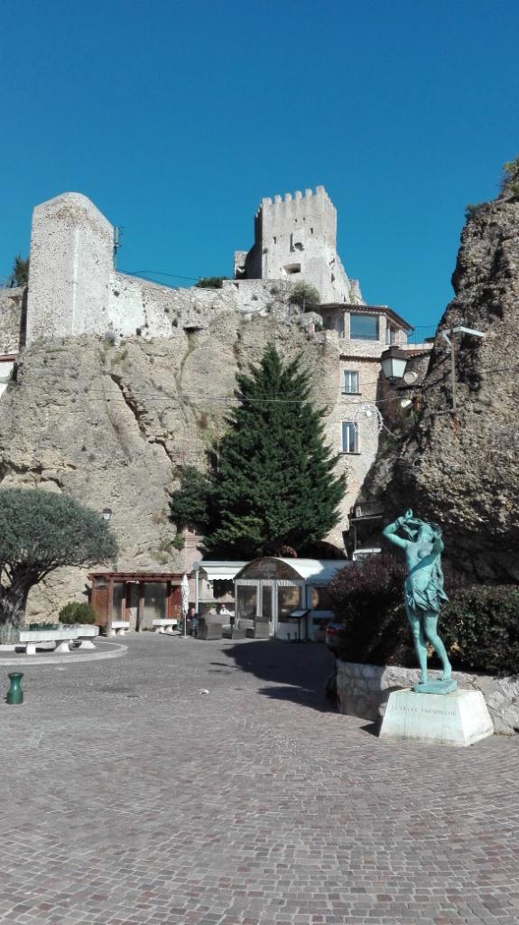 il castello di Roquebrune