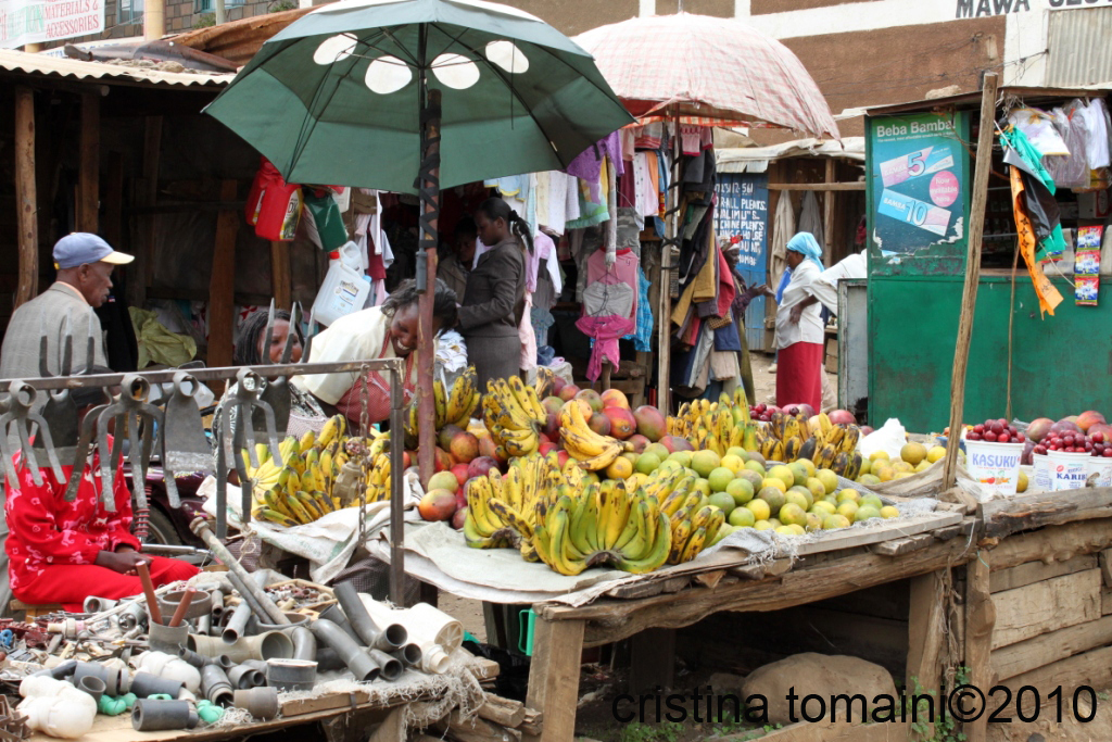 mercato di nyaururu