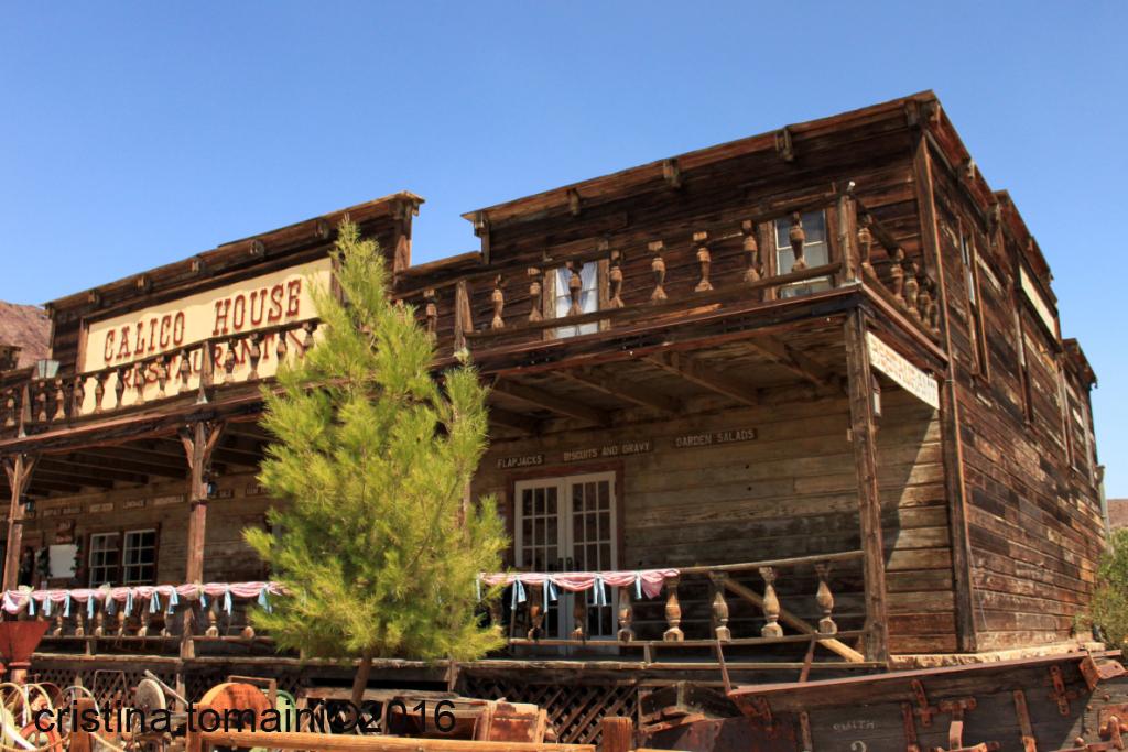 il saloon di Calico