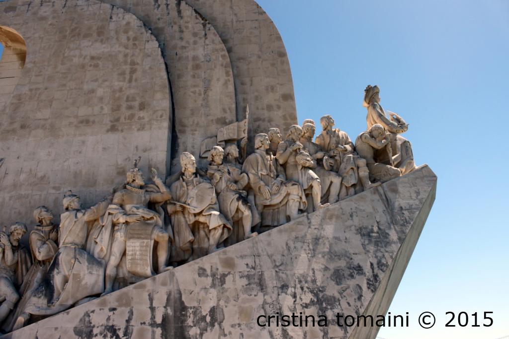 """Il monumento alle scoperte geografiche """"Padrao dos Descobrimentos"""""""