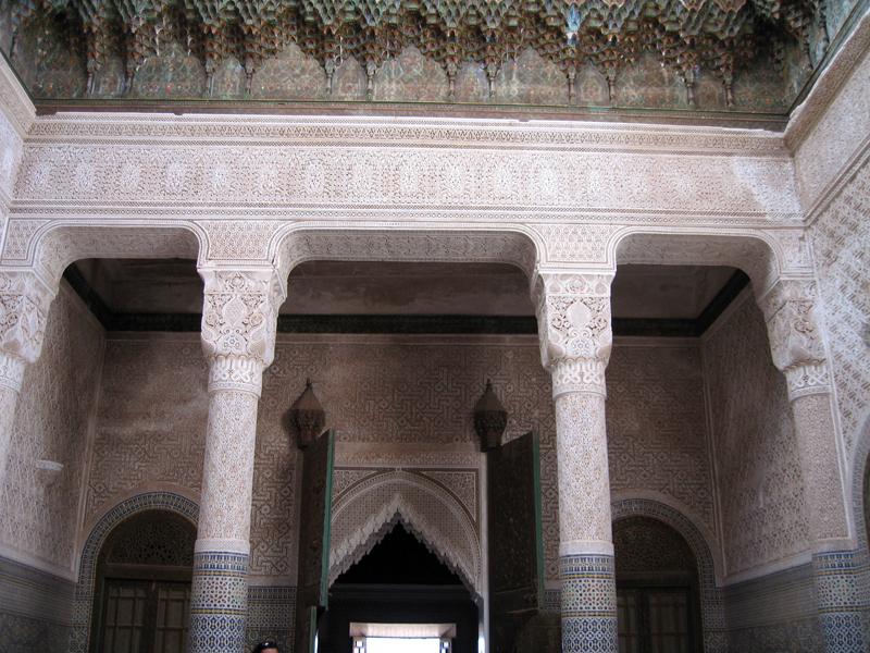 Interno della kasbah di Telouet