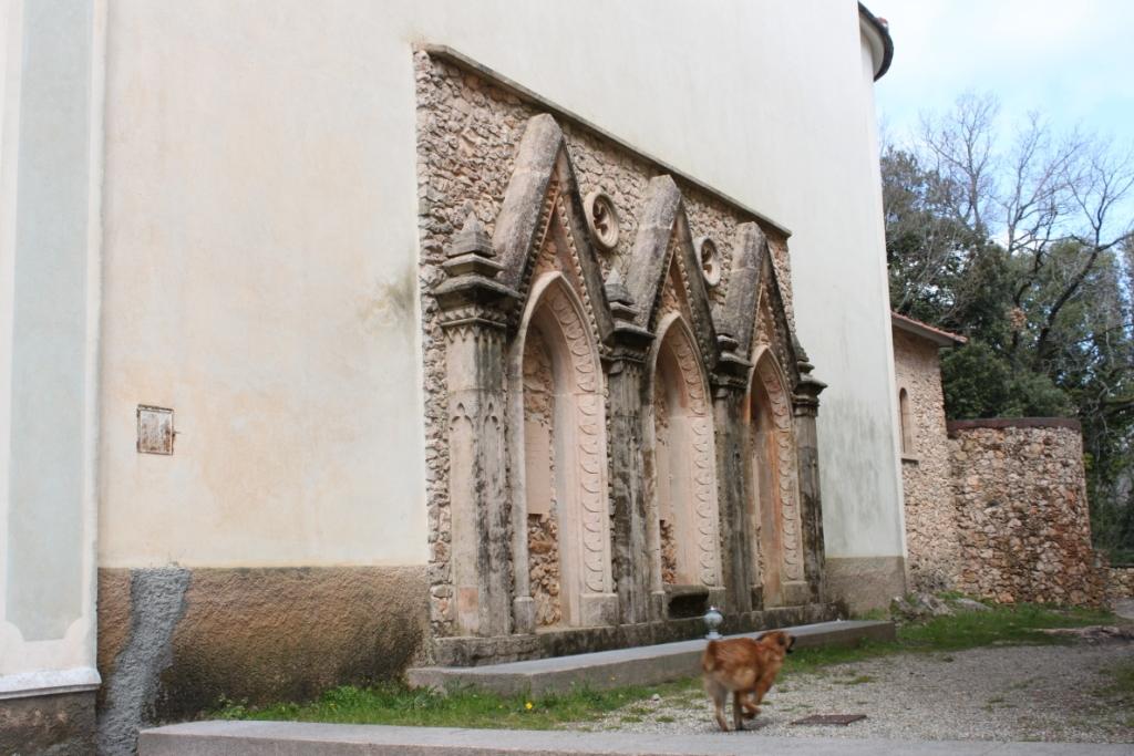 archetti quattorcenteschi del Santuario di Santa Maria Maddalena