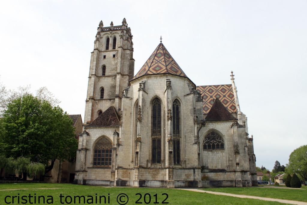 Monastero di brou, abside