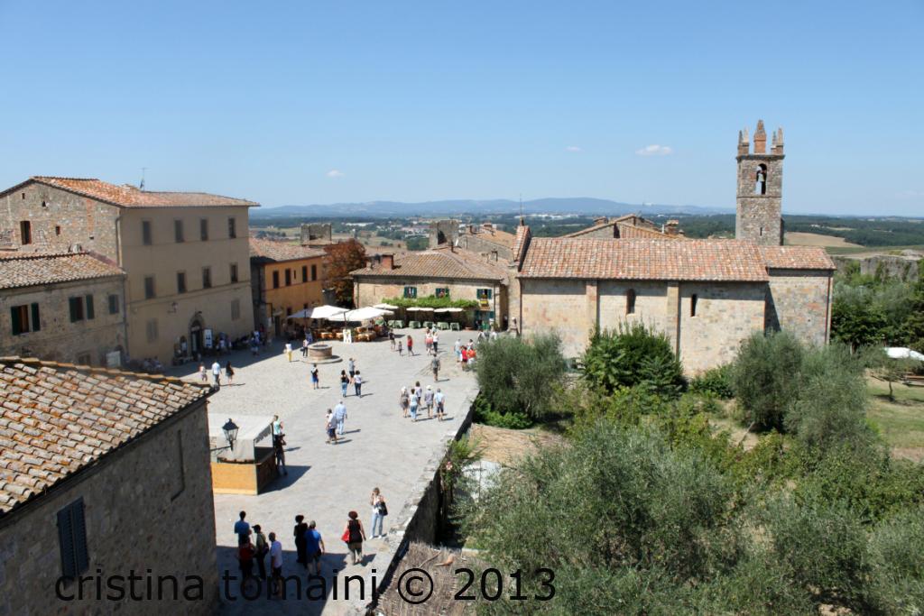 il centro di Monteriggioni
