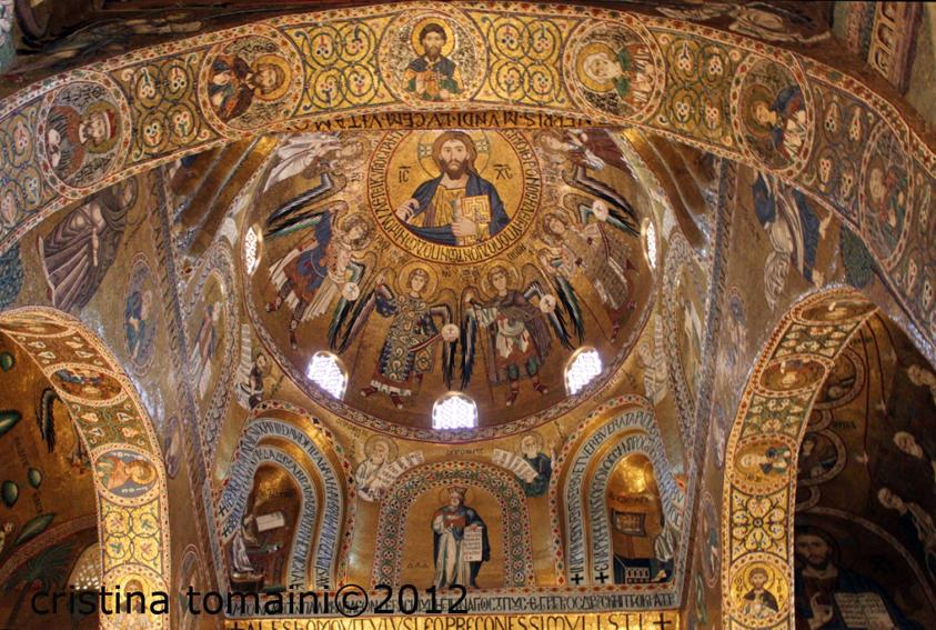 Cappella Palatina al Palazzo dei Normanni, Cristo Pantocratore