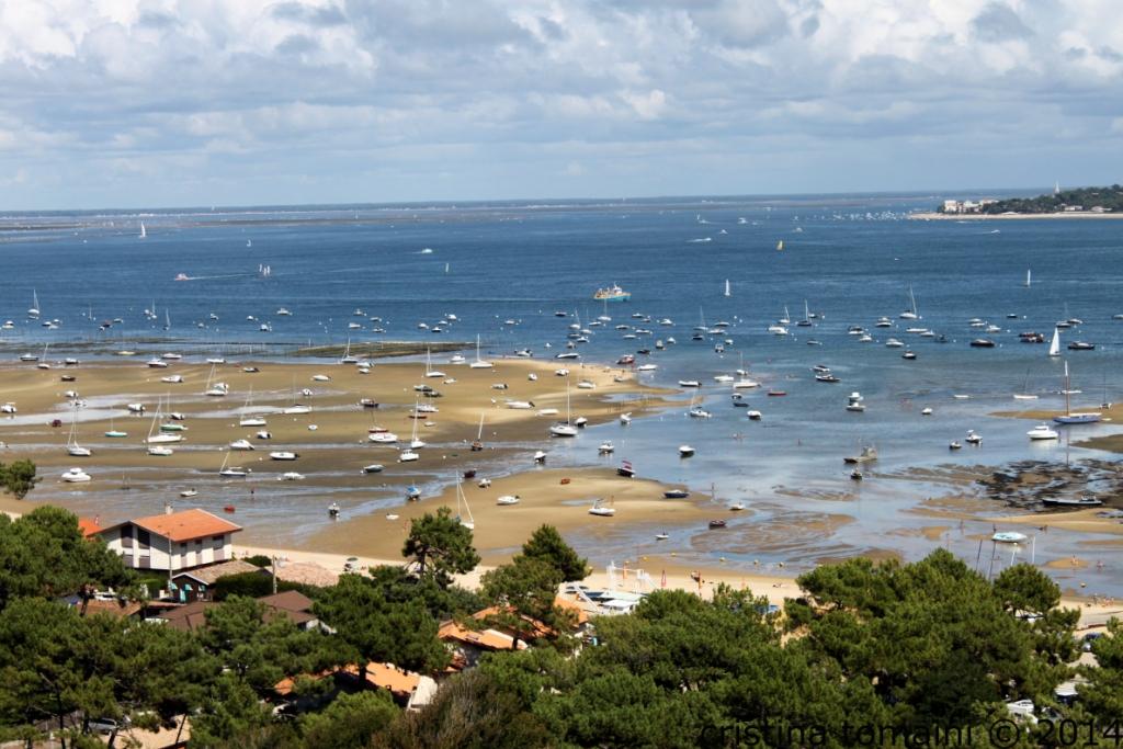 la bassa marea a Cap ferret