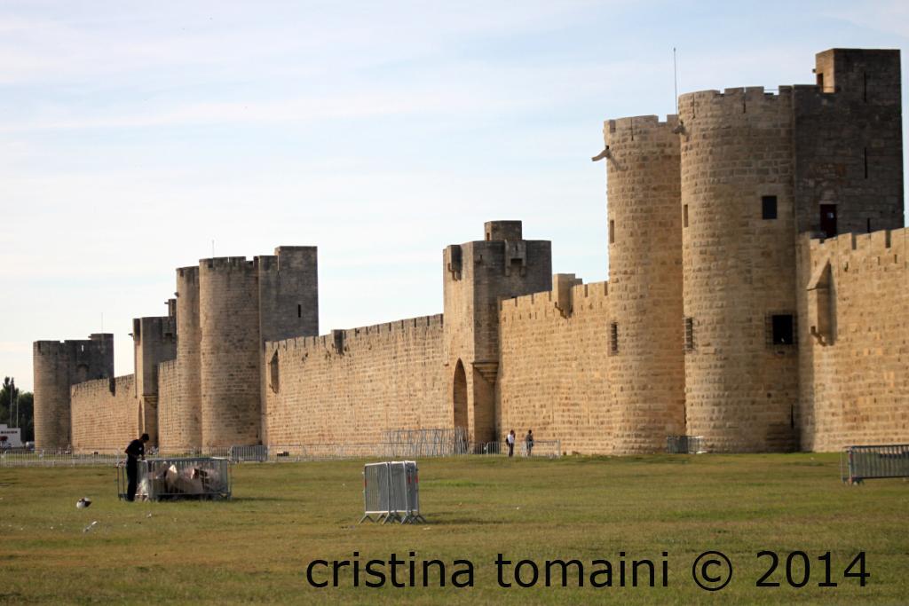 le mura di Aigües Mortes