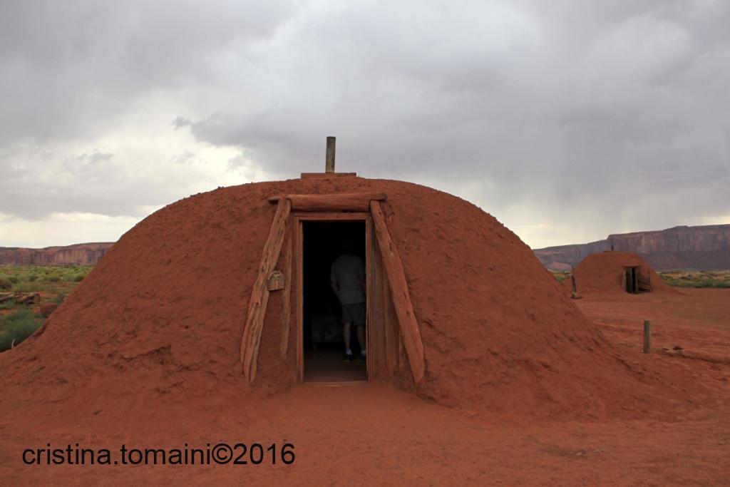 Hogan, casa degli indiani