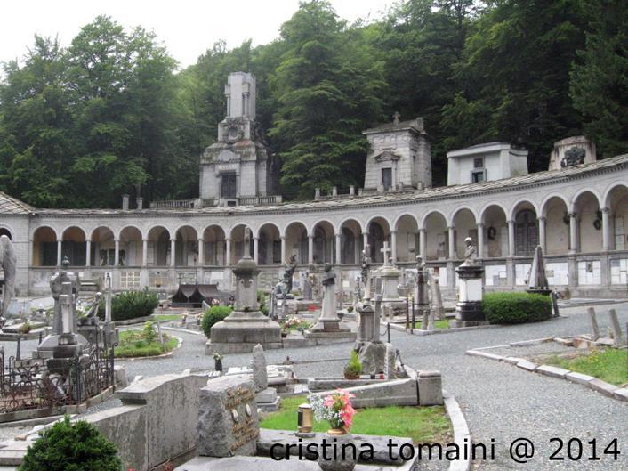 Il Cimitero monumentale di Oropa