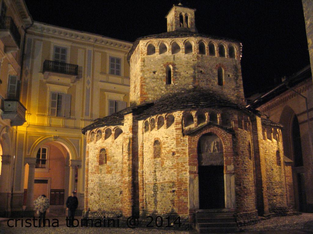 battistero romanico di Biella