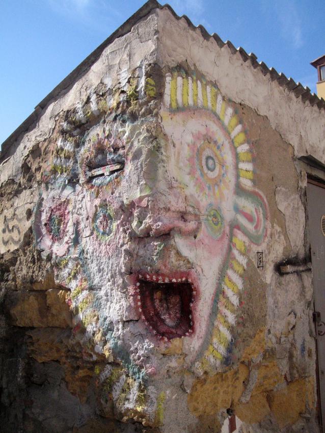 murales a borgo vecchio