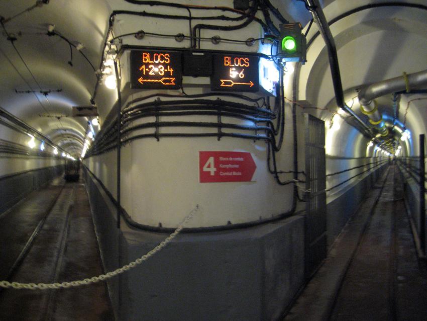 i tunnel della Linea Maginot