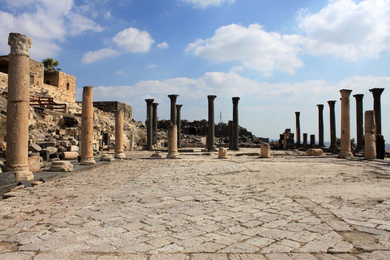 Gadara, resti della città romana
