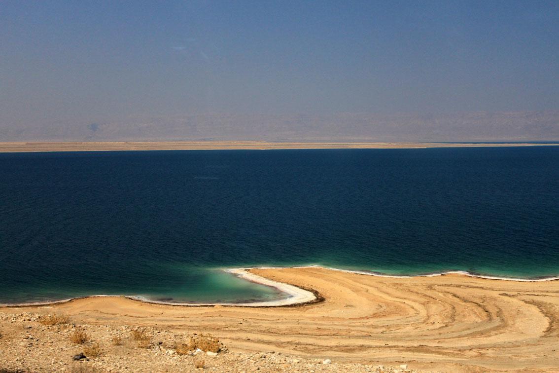 Il Mar Morto sempre più basso
