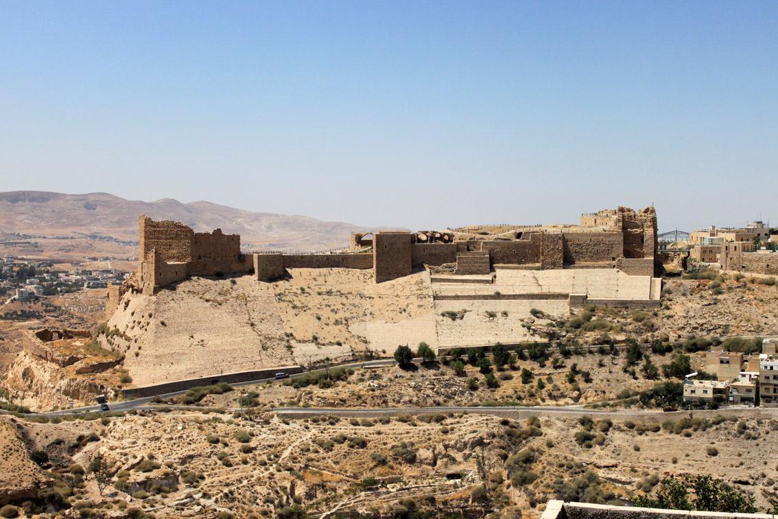 la fortezza di Kerak