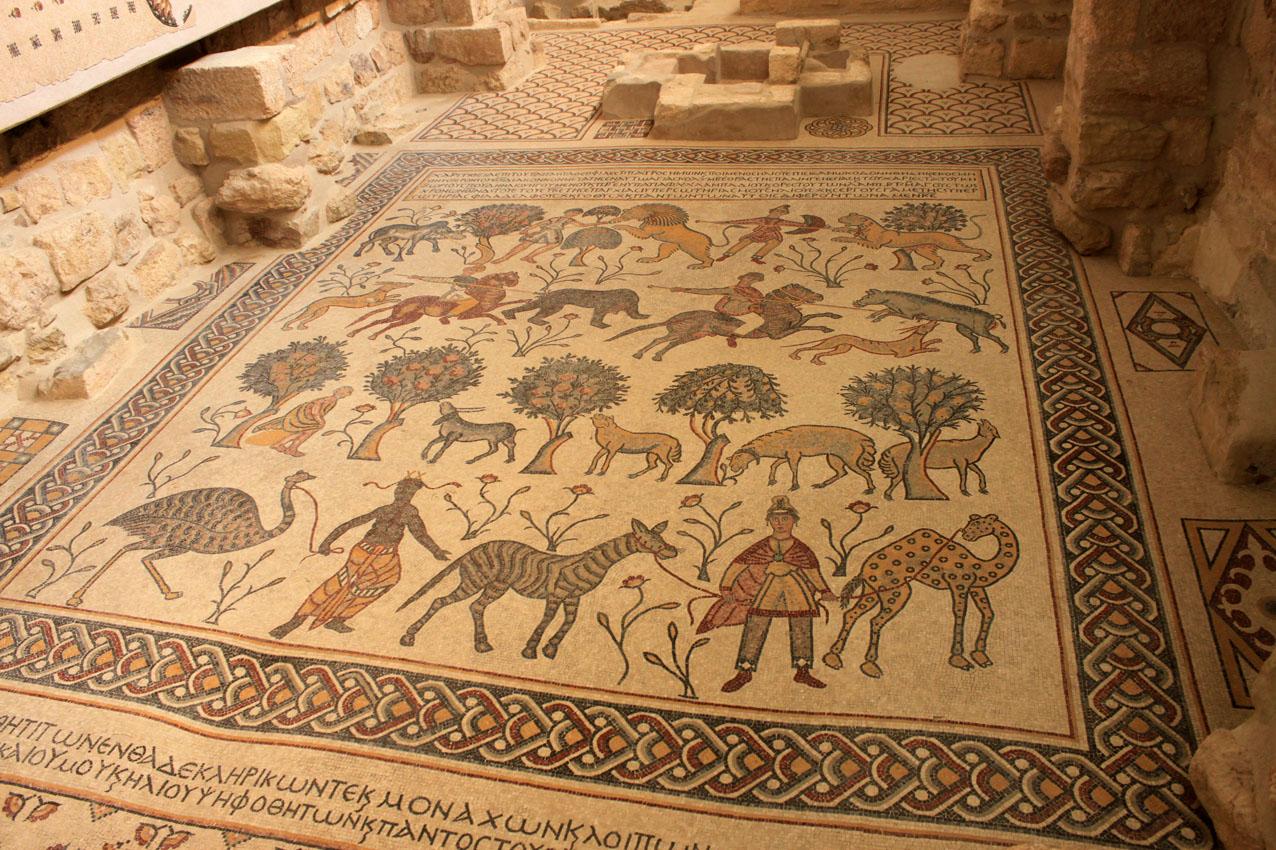 i mosaici di Madaba