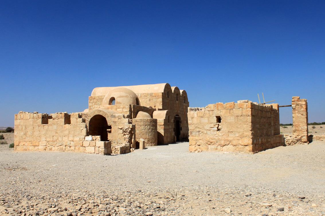 Qasr Amra. I castelli del deserto.