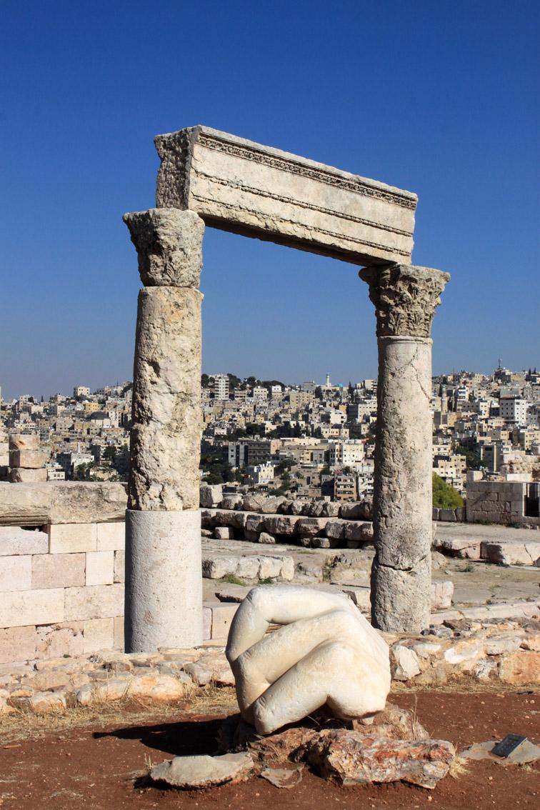 la Cittadella ad Amman
