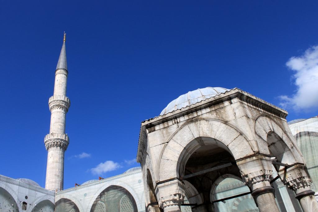 la Moschea Blu, Sultanahmet camii