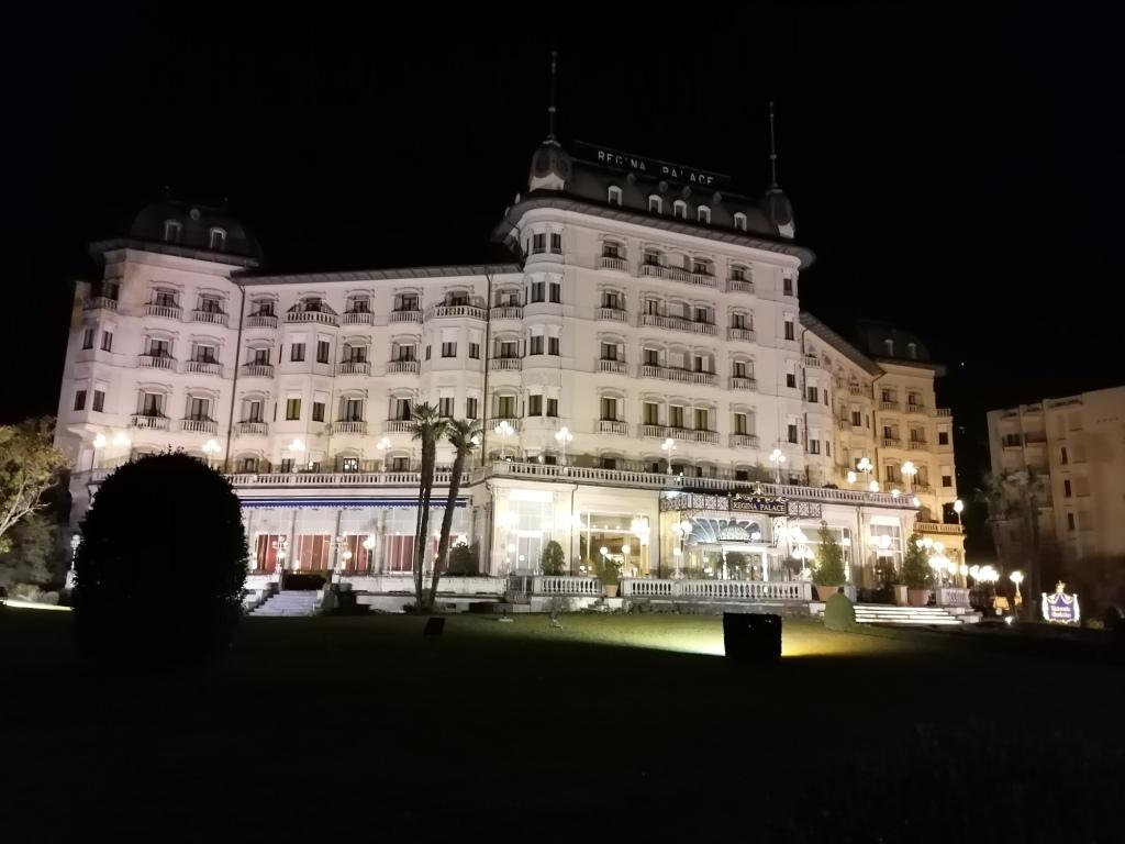 l'albergo Regina Palace di Stresa